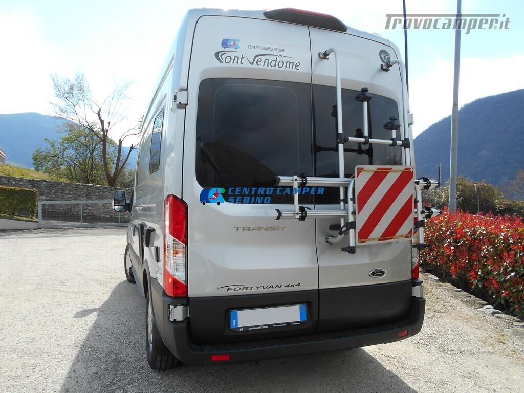 Noleggio van Font Vendome Forty Van 4x4 nuovo  in vendita a Brescia - Immagine 3