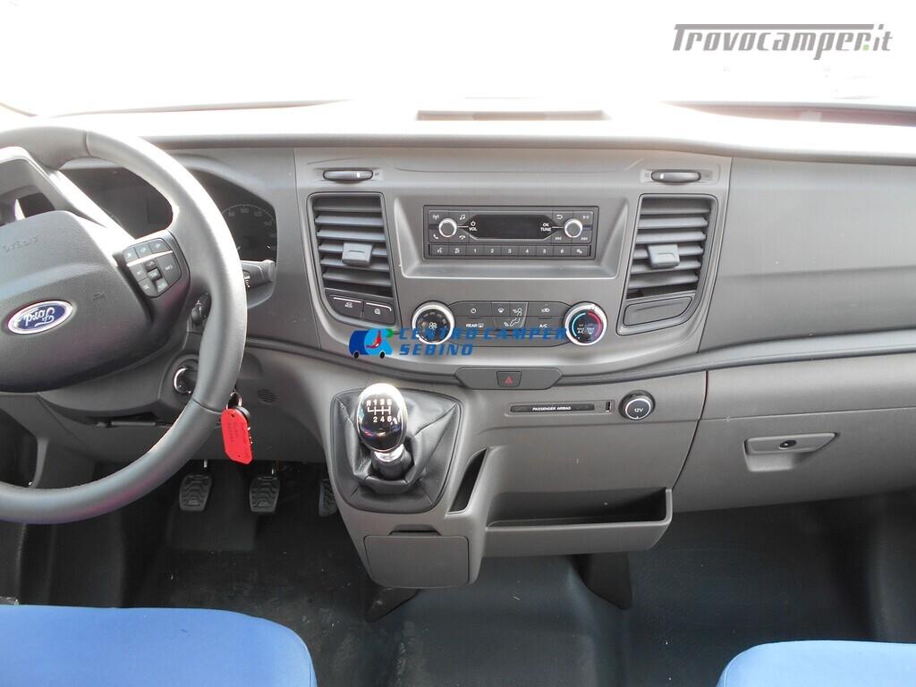 Noleggio van Font Vendome Forty Van 4x4 nuovo  in vendita a Brescia - Immagine 4
