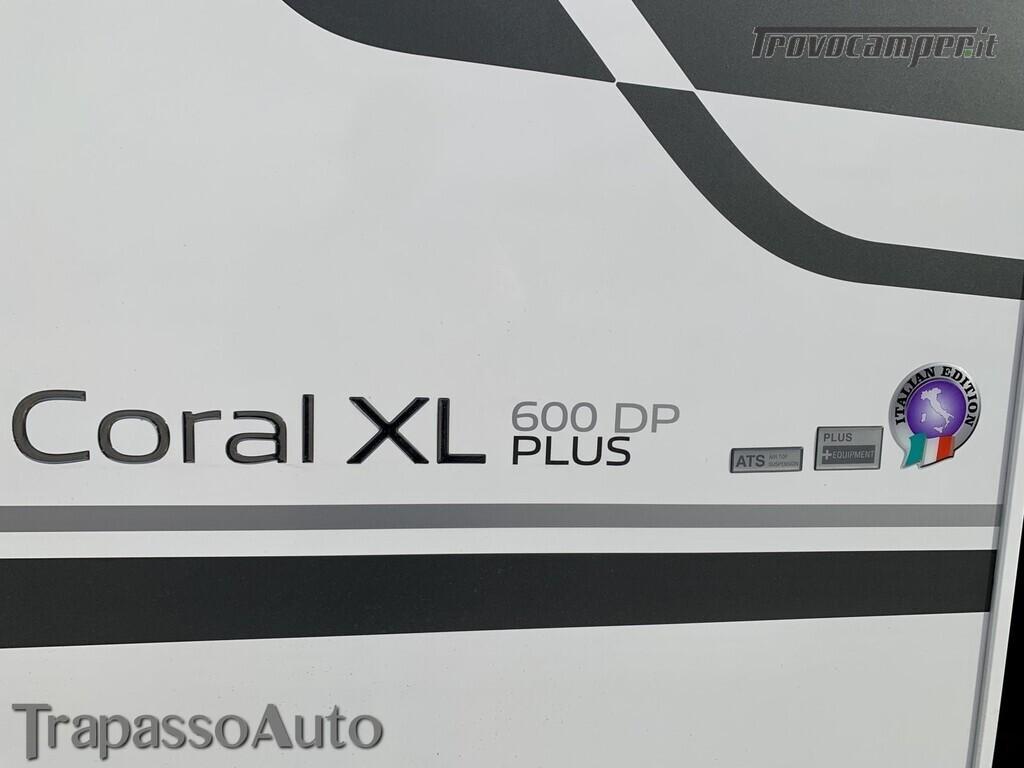 Adria Coral XL PLUS 600 DP usato  in vendita a Sassari - Immagine 5