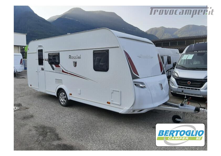 415 - tabbert rossini 520 dm - caravan con matrim, dinette ...