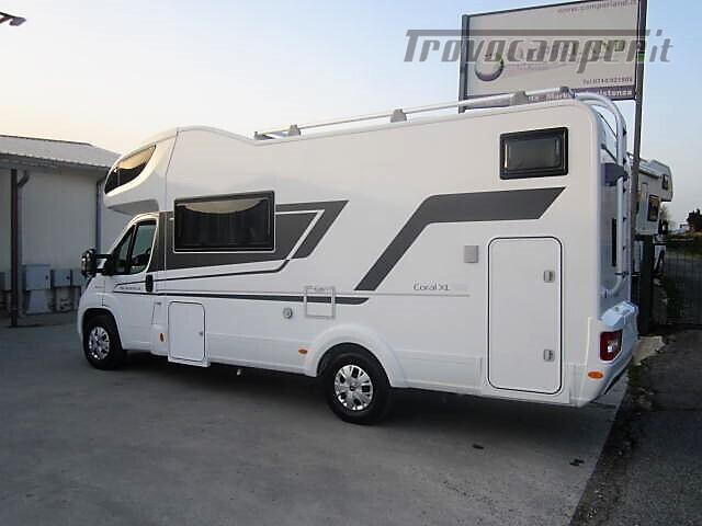 MANSARDATO 7 POSTI DOPPIA DINETTE ADRIA CORAL XL A670DK AXESS usato  in vendita a Rieti - Immagine 3