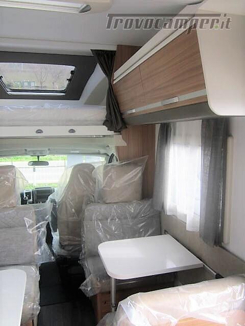 MANSARDATO 7 POSTI DOPPIA DINETTE ADRIA CORAL XL A670DK AXESS usato  in vendita a Rieti - Immagine 5