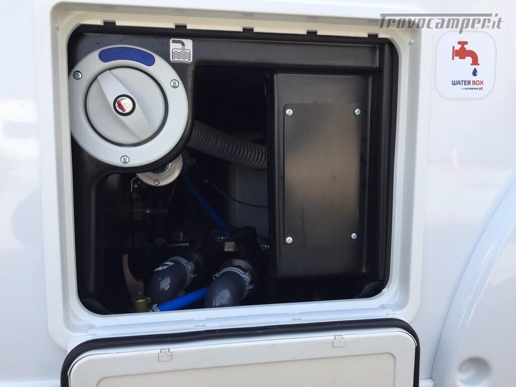 MOTORHOME AUTOSTAR CON LETTO NAUTICO E TELAIO AL-KO usato  in vendita a Monza e Brianza - Immagine 24