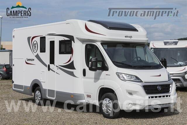 Semintegrale elnagh elnagh baron 560 versione camperi nuovo  in vendita a Modena - Immagine 1