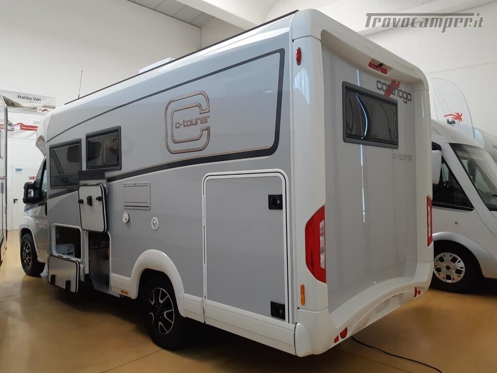 Semintegrale Carthago con garage e grande dinette PROMOZIONE IN CORSO nuovo  in vendita a Pordenone - Immagine 3