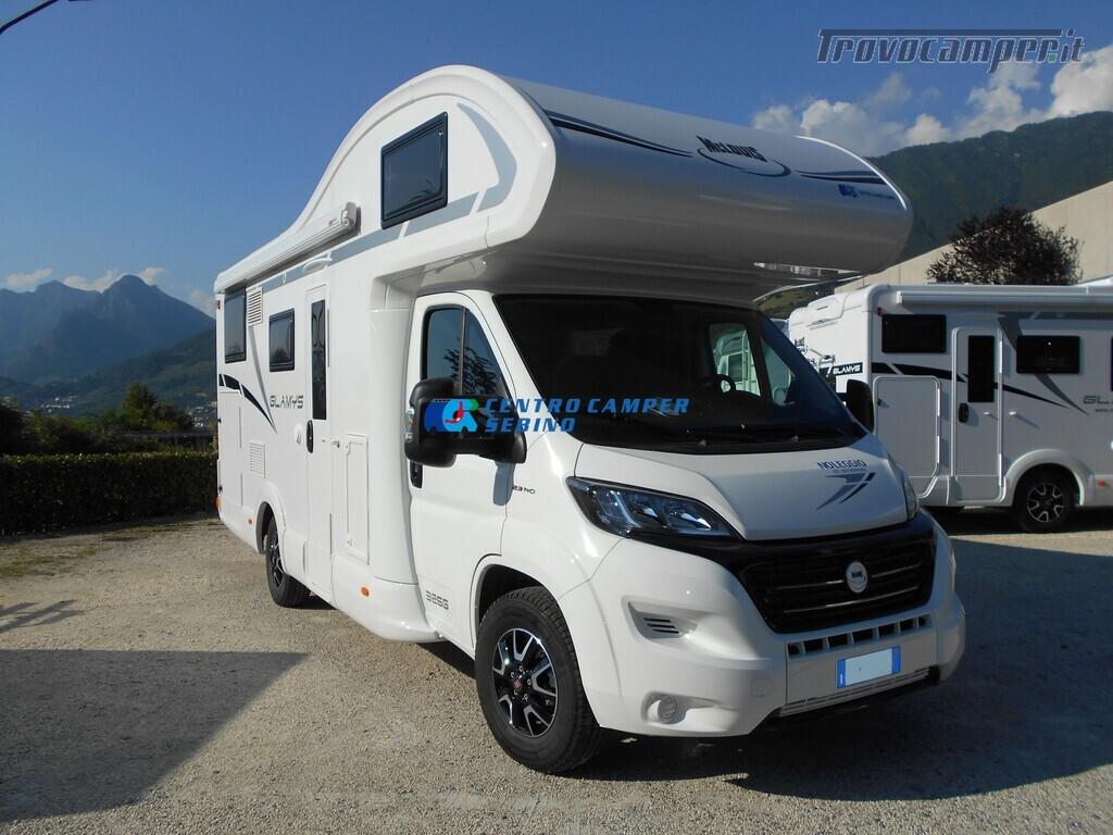 Noleggio McLouis Glamys 326 G camper mansardato 6 posti con garage nuovo  in vendita a Brescia - Immagine 1