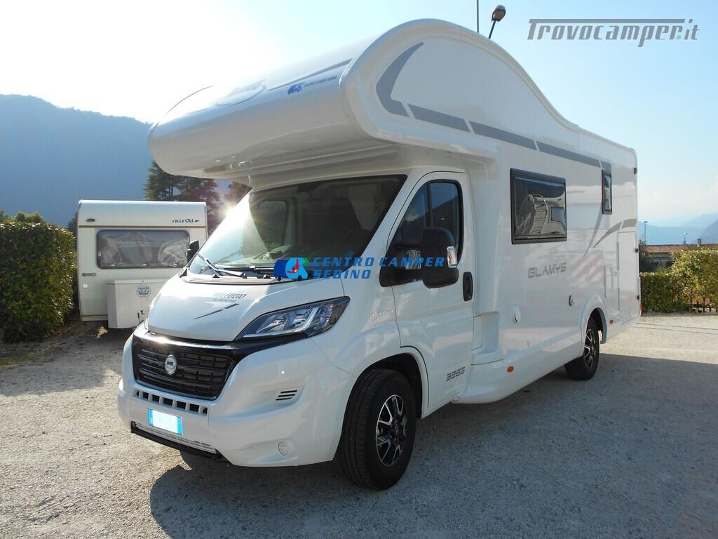 Noleggio McLouis Glamys 326 G camper mansardato 6 posti con garage nuovo  in vendita a Brescia - Immagine 2