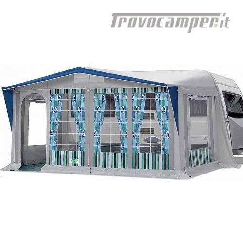 Veranda per caravan Tempo mod. PALMA Tg. 6 usato  in vendita a Brescia - Immagine 1