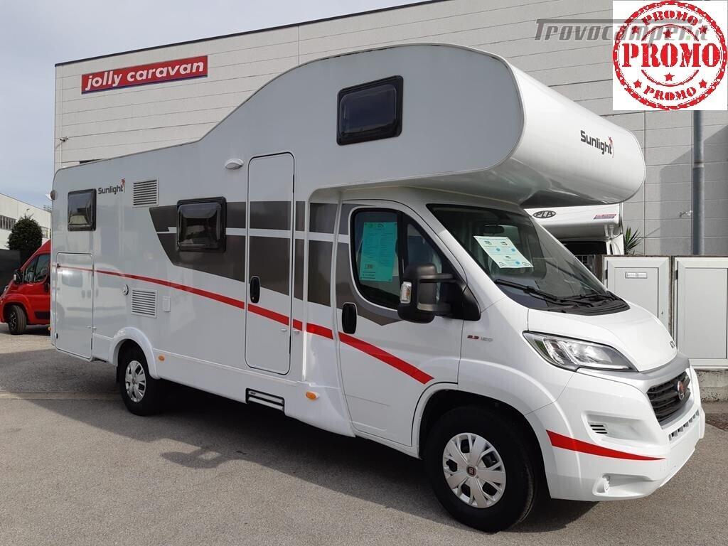 Maxi garage,maxi spazio,qualità Hymer A 70 PROMOZIONE IN CORSO usato  in vendita a Pordenone - Immagine 1