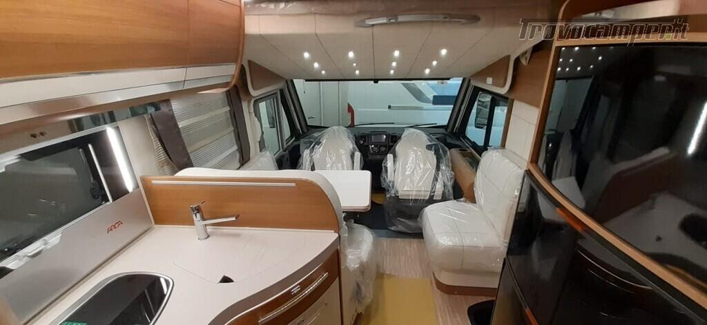 MOTORHOME ARCA EUROPA H 740 GLG NUOVO CON LETTI GEMELLI nuovo  in vendita a Macerata - Immagine 6