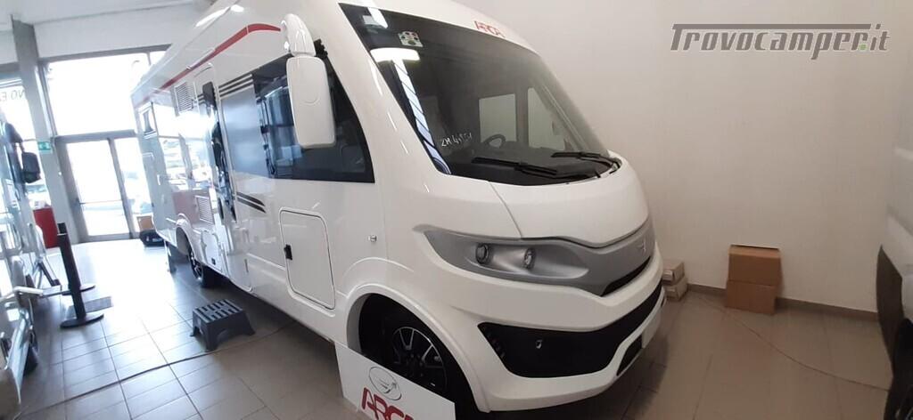 MOTORHOME ARCA EUROPA H 740 GLG NUOVO CON LETTI GEMELLI nuovo  in vendita a Macerata - Immagine 1