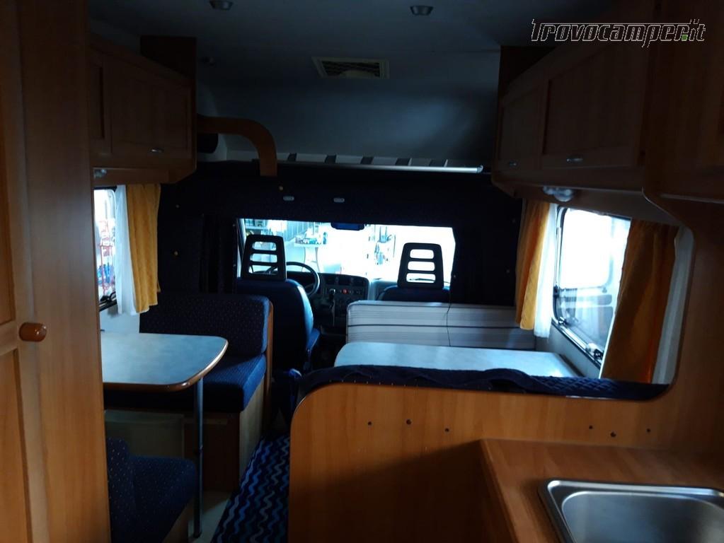 Spazioso camper mansardato 7 posti con doppia dinette offerta luglio agosto nuovo  in vendita a Mantova - Immagine 7