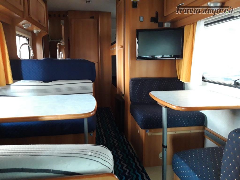Spazioso camper mansardato 7 posti con doppia dinette offerta luglio agosto nuovo  in vendita a Mantova - Immagine 3