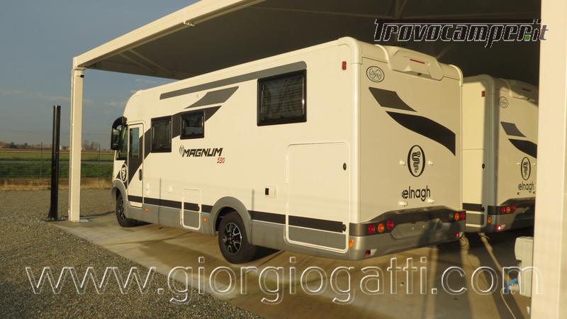 Motorhome Elnagh Magnum 530 con letti gemelli in pronta consegna nuovo  in vendita a Alessandria - Immagine 20