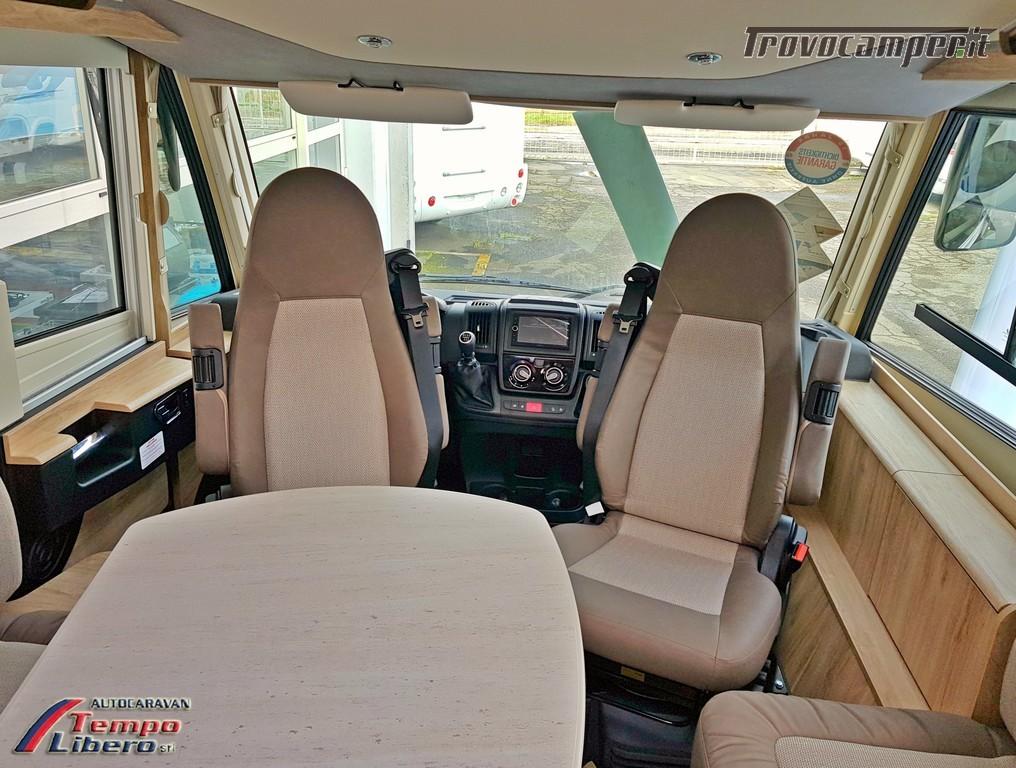 MOTORHOME EURA MOBIL INTEGRA LINE 695 EB 4 POSTI GARAGE nuovo  in vendita a Modena - Immagine 6
