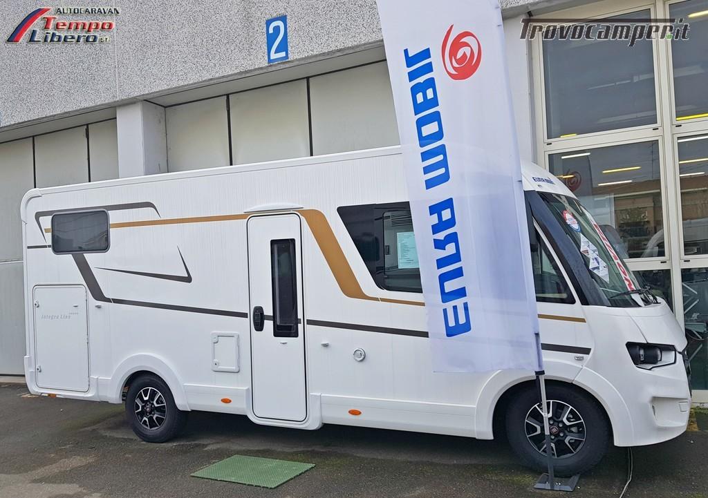 MOTORHOME EURA MOBIL INTEGRA LINE 695 EB 4 POSTI GARAGE nuovo  in vendita a Modena - Immagine 3