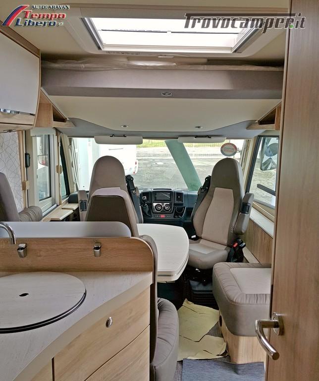 MOTORHOME EURA MOBIL INTEGRA LINE 695 EB 4 POSTI GARAGE nuovo  in vendita a Modena - Immagine 18