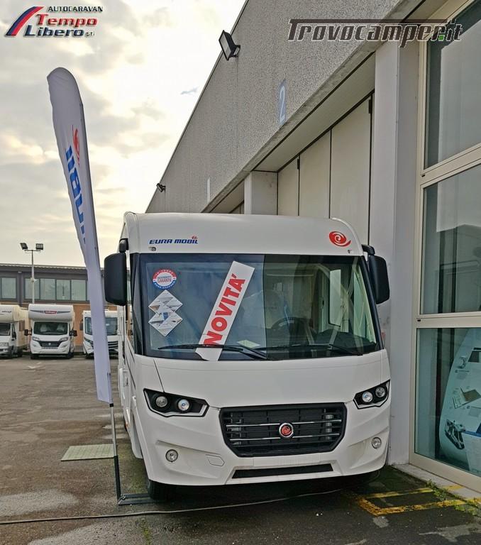 MOTORHOME EURA MOBIL INTEGRA LINE 695 EB 4 POSTI GARAGE nuovo  in vendita a Modena - Immagine 1