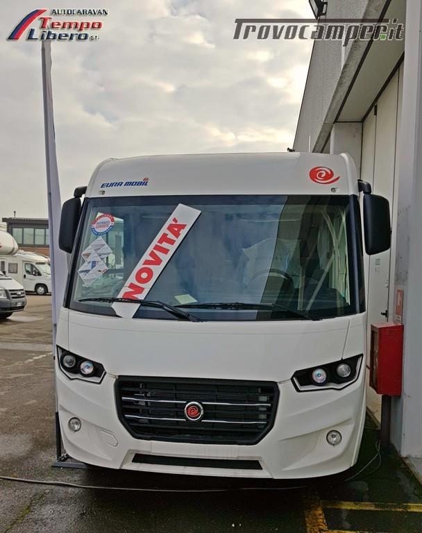 MOTORHOME EURA MOBIL INTEGRA LINE 695 EB 4 POSTI GARAGE nuovo  in vendita a Modena - Immagine 2