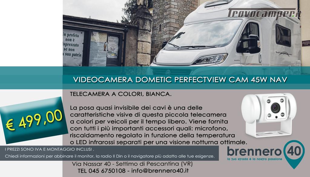 VIDEOCAMERA DI RETROMARCIA_DOMETIC WAECO usato  in vendita a Verona - Immagine 1