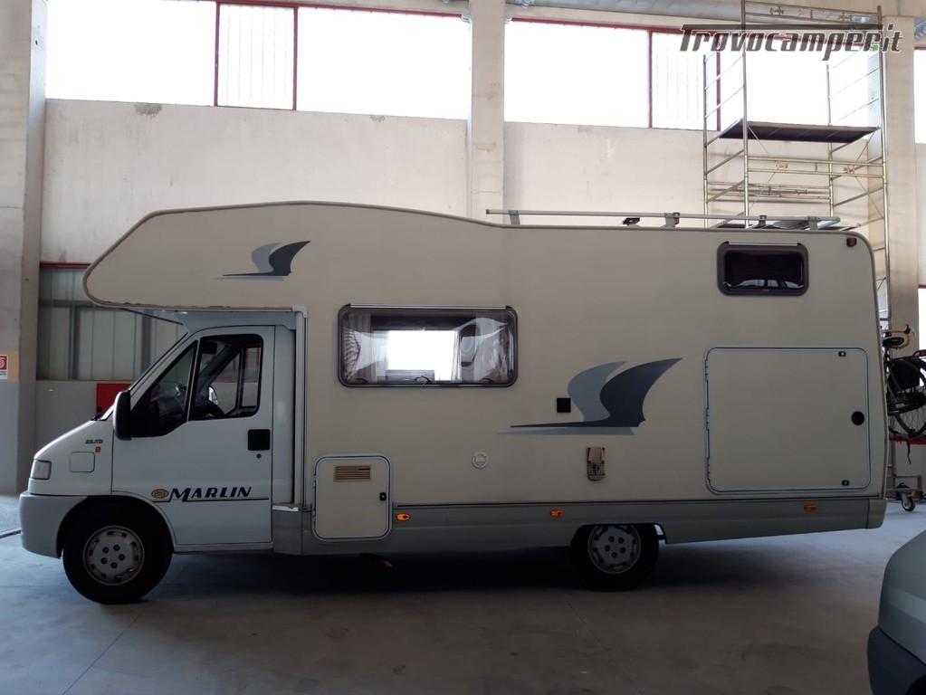 Noleggio camper Elnagh Big Marlin Doppia Dinette tariffa 65 Euro/giorno usato  in vendita a Mantova - Immagine 2