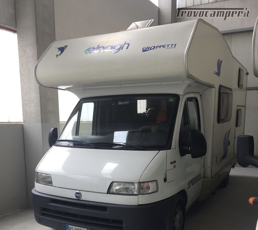 Noleggio Camper Mansardato Big Marlin 64 tariffa 65 Euro/ giorno usato  in vendita a Mantova - Immagine 9