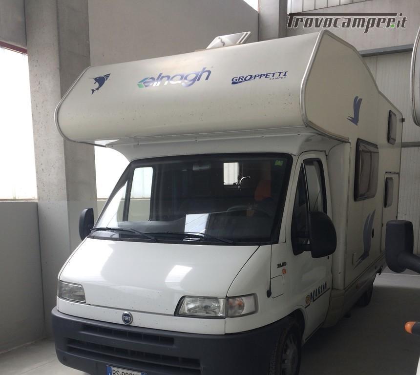 Noleggio Camper Mansardato Big Marlin 64 tariffa 65 Euro/ giorno usato  in vendita a Mantova - Immagine 1