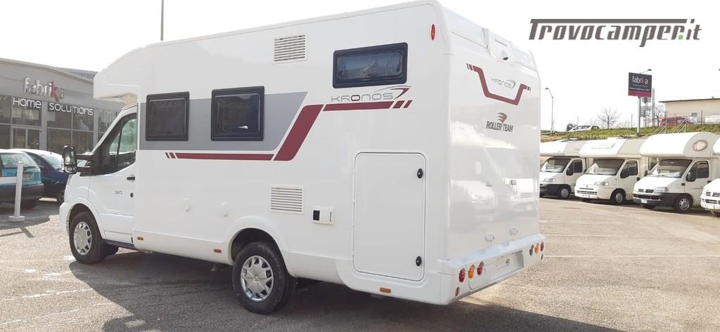 SEMINTEGRALE COMPATTO CON GARAGE ROLLER TEAM KRONOS 294 TL nuovo  in vendita a Macerata - Immagine 3