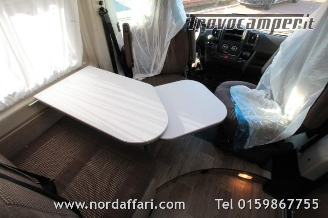 Camper puro possl roadcamp r citroen e fiat usato  in vendita a Biella - Immagine 8