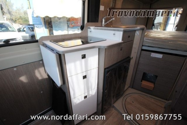 Camper puro possl roadcamp r citroen e fiat usato  in vendita a Biella - Immagine 10