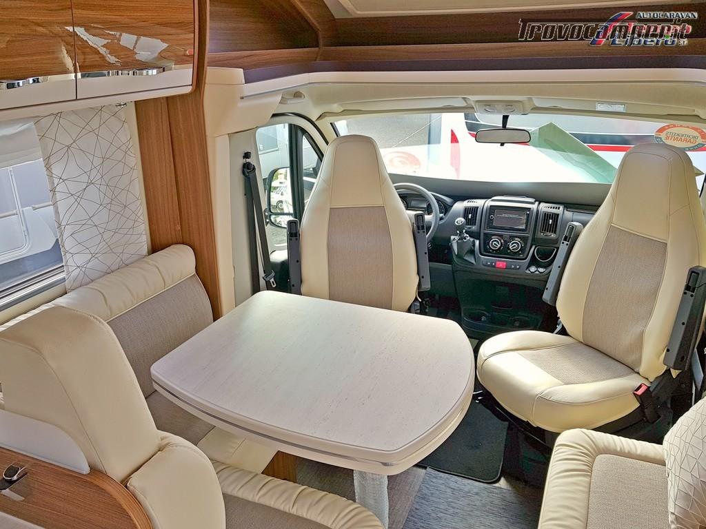 SEMINTEGRALE EURAMOBIL PROFILA RS 675 SB CON BASCULANTE 4 POSTI nuovo  in vendita a Modena - Immagine 2