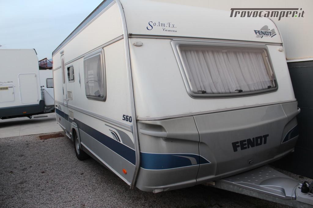 Caravan Fendt Saphir 560 nuovo  in vendita a Treviso - Immagine 2