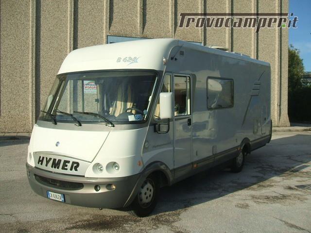 MOTORHOME HYMER B 624 DUCATO 2.8 JTD TELAIO AL-KO nuovo  in vendita a Ancona - Immagine 2