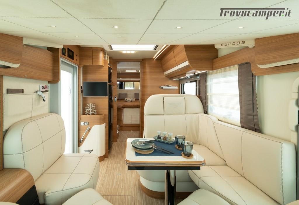 Motorhome ARCA Europa H 740 GLC con garage e letto matrimoniale in coda nuovo  in vendita a Massa-Carrara - Immagine 5