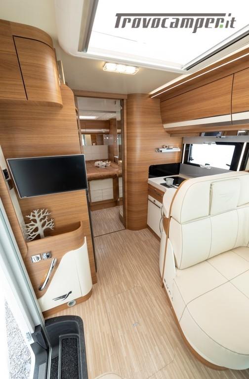 Motorhome ARCA Europa H 740 GLC con garage e letto matrimoniale in coda nuovo  in vendita a Massa-Carrara - Immagine 6