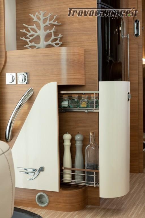 Motorhome ARCA Europa H 740 GLC con garage e letto matrimoniale in coda nuovo  in vendita a Massa-Carrara - Immagine 7