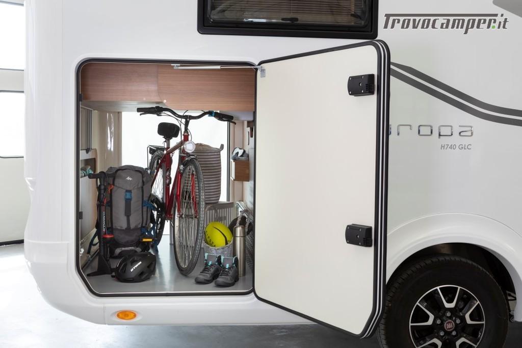 Motorhome ARCA Europa H 740 GLC con garage e letto matrimoniale in coda nuovo  in vendita a Massa-Carrara - Immagine 11