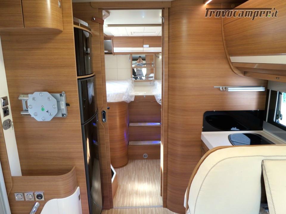 Semi integrale ARCA Europa P 740 GLG con garage e letti gemelli in coda usato  in vendita a Massa-Carrara - Immagine 6