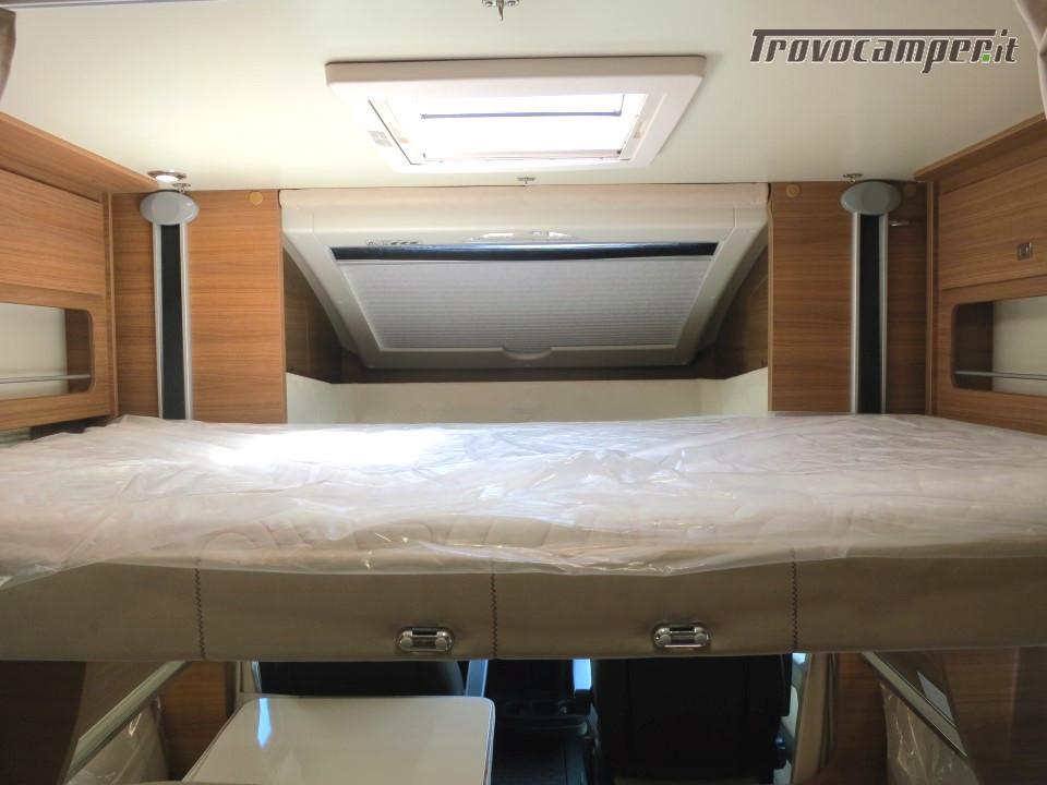 Semi integrale ARCA Europa P 740 GLG con garage e letti gemelli in coda usato  in vendita a Massa-Carrara - Immagine 12