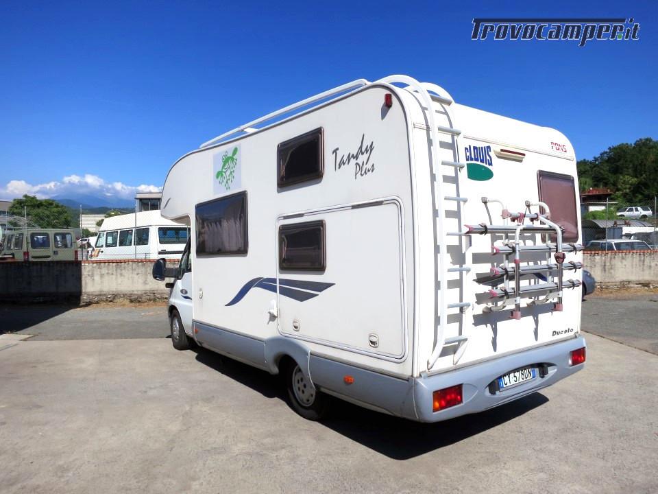 Mc Louis Tandy 610 Mansardato 6 posti letto con veranda e pannello solare usato  in vendita a Massa-Carrara - Immagine 2