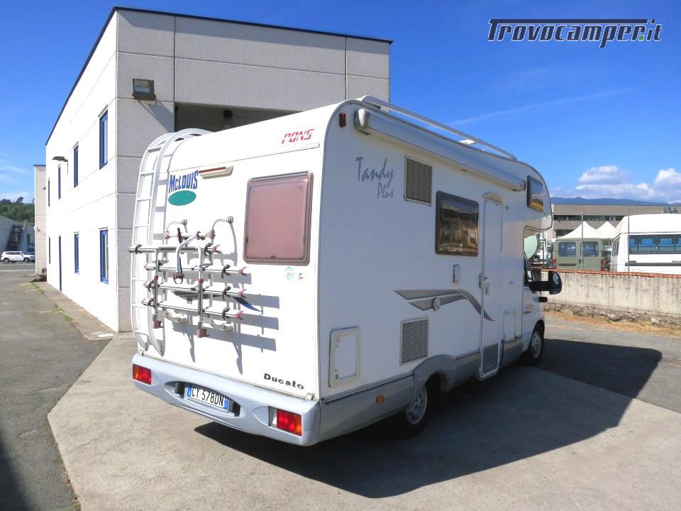 Mc Louis Tandy 610 Mansardato 6 posti letto con veranda e pannello solare usato  in vendita a Massa-Carrara - Immagine 3