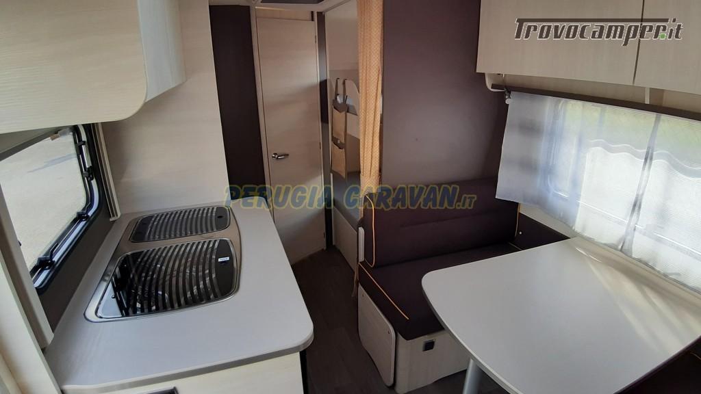Roulotte 6 posti seminuova Caravelair Antares 496 style nuovo  in vendita a Perugia - Immagine 8