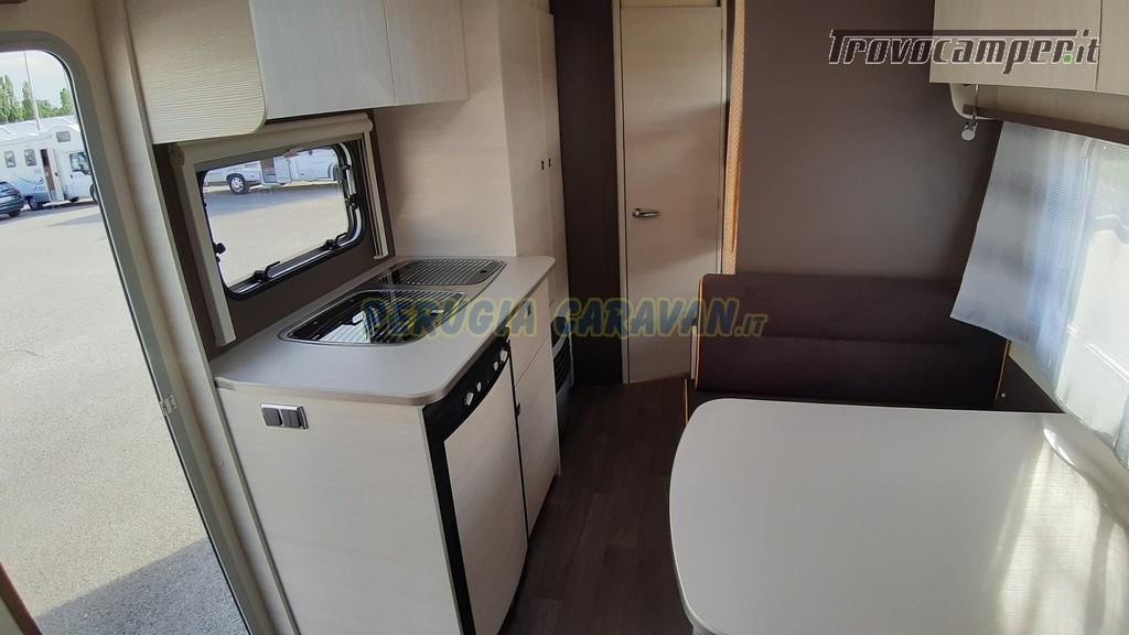 Roulotte 6 posti seminuova Caravelair Antares 496 style nuovo  in vendita a Perugia - Immagine 7