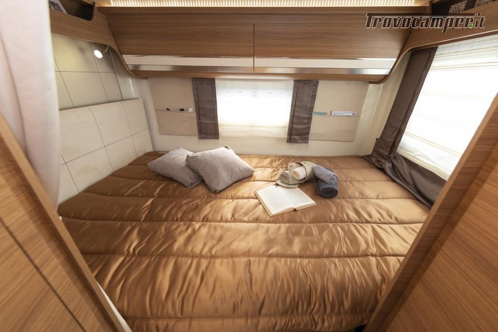 Semi-integrale ARCA Europa P 699 GLM con garage e letto matrimoniale in coda usato  in vendita a Massa-Carrara - Immagine 8