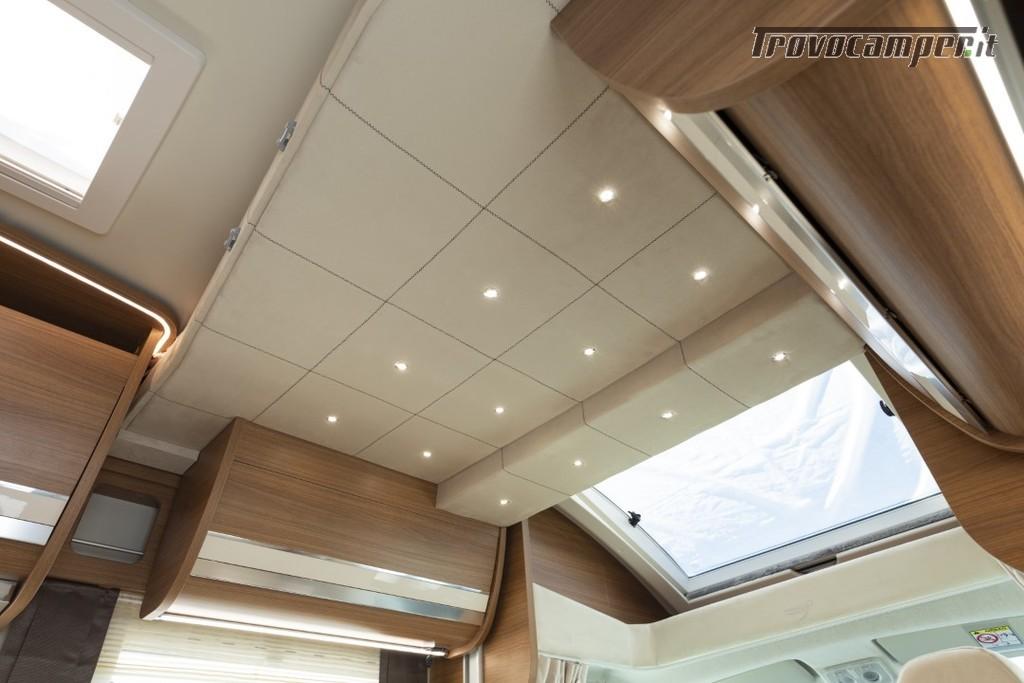Semi-integrale ARCA Europa P 699 GLM con garage e letto matrimoniale in coda usato  in vendita a Massa-Carrara - Immagine 11