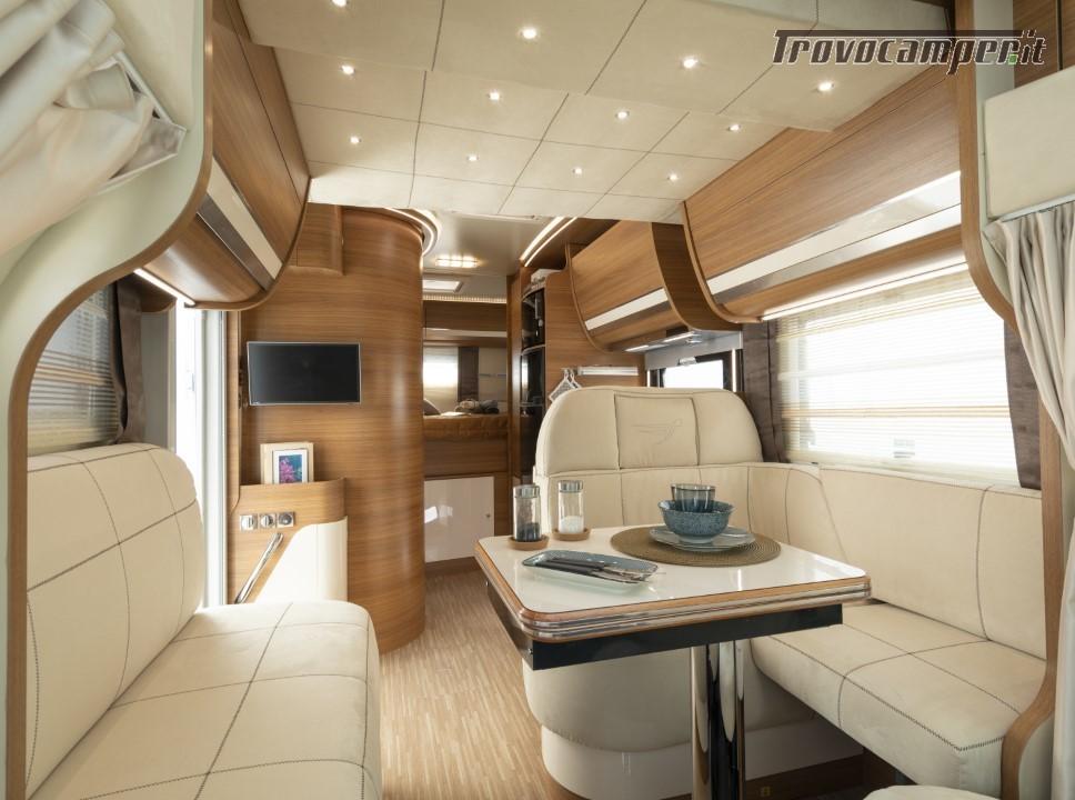 Semi-integrale ARCA Europa P 699 GLM con garage e letto matrimoniale in coda usato  in vendita a Massa-Carrara - Immagine 4