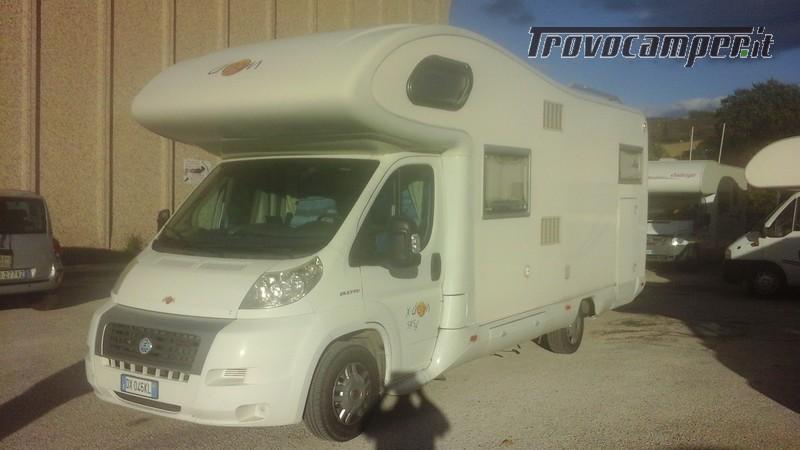 Mansardato dream 545 garage ducato 3000 nuovo  in vendita a Ancona - Immagine 2