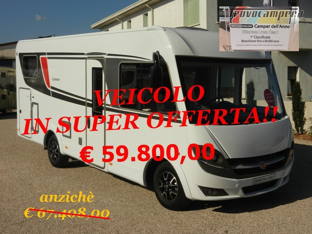 Motorhome Burstner LYSEO TIME I 690g usato  in vendita a Treviso - Immagine 12