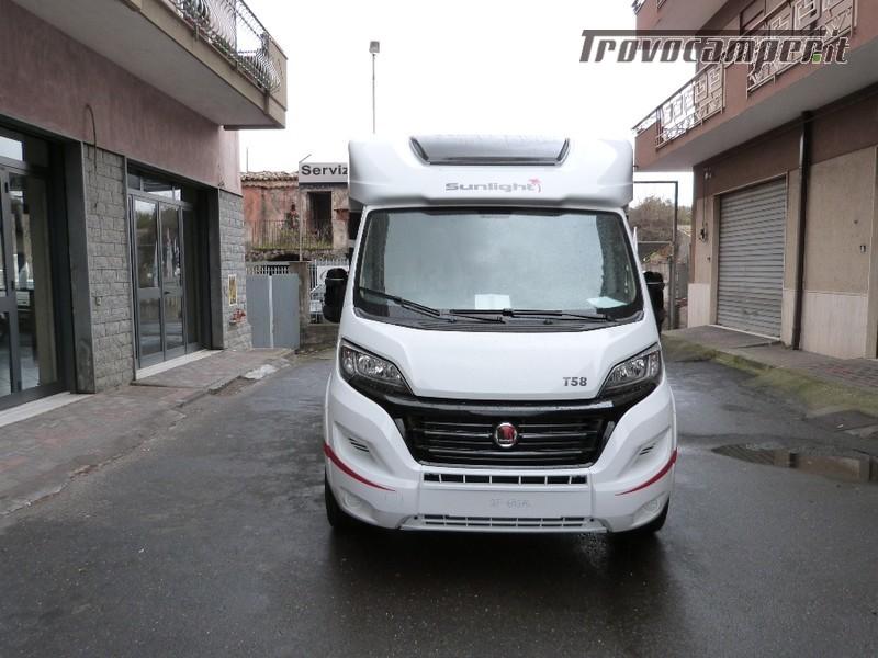 """SEMINTEGRALE SUNLIGHT T 58 """"GRUPPO HYMER"""" nuovo  in vendita a Catania - Immagine 1"""