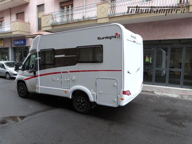 """SEMINTEGRALE SUNLIGHT T 58 """"GRUPPO HYMER"""" nuovo  in vendita a Catania - Immagine 3"""